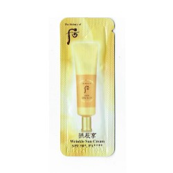 Солнцезащитный восстанавливающий крем The History Of Whoo Jin Hae Yoon Sun Cream  SPF50+/PA+++ 1мл*10шт