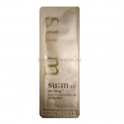 Тональная основа SU:M37˚ Air Rising Tf Stay Fit Foundation SPF35/PA++ 1мл*10шт