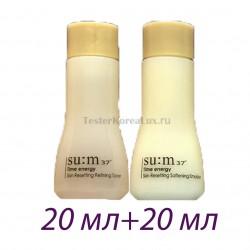 Базовый тонер + эмульсия Su:m37˚ Time energy Skin Resetting Refining  20ml+20ml