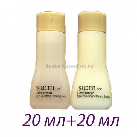 Базовый тонер Su:m37˚ Time energy Skin Resetting Refining Toner 6ml*5шт