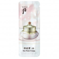 The History of Whoo Soo Yeon cream 1*10шт