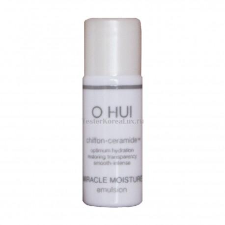 O HUI Miracle Moisture Skin emulsion 6мл*5шт