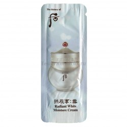 The History of Whoo   Radiant White   Moisture cream 1*10шт