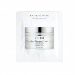 O HUI EXTREME WHITE Sleeping Mask 1*10шт