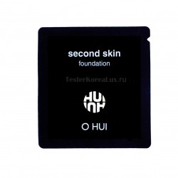 O HUI Second skin fondation SPF35/PA++  02 Honey Beige 1ea*10шт