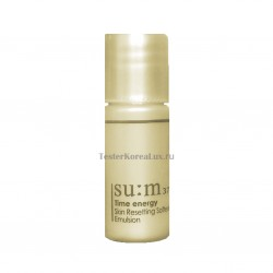 Базовая эмульсия SU:M37˚ Time energy Skin Resetting Softening Emulsion  6ml*5шт