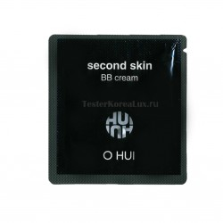 O HUI Second skin Blemish Balm Cream SPF50/PA++ No.2 Honey beige 1ea*10шт