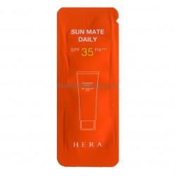 Солнцезащитный матирующий крем HERA Sun Mate Daily SPF35/PA++ 1мл*10шт