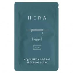 Увлажняющая ночная маска HERA AQUA RECHARGING SLEEPING MASK   3мл*10шт