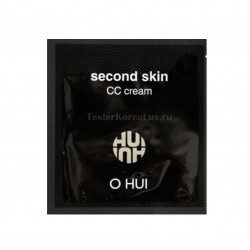 СС крем O HUI Second skin Cream Color SPF37/PA++  1ea*10шт